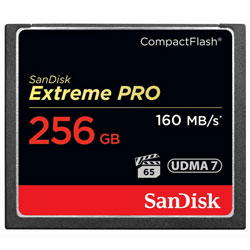 Extreme PRO UDMA 7 コンパクトフラッシュ カード 256GB 〔SDCFXPS-256G-J61〕 《納期約1ヶ月》