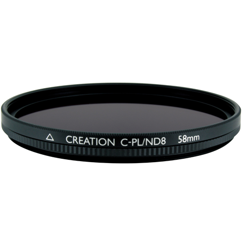 マルミ光機 58mm CREATION C-PL/ND8