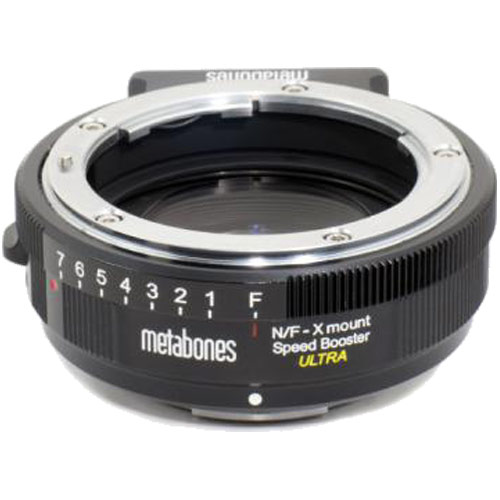 METABONES MB_SPNFG-X-BM2 FUJIFILM X用NikonG SpeedBooster ULTRAマウントAD[レンズ側:ニコンG ボディ側:フジX] 《納期約3週間》