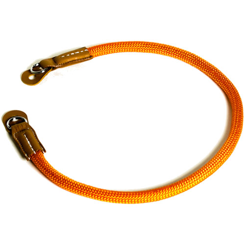 EXTENDED 40042 YOSEMITE CAMERA STRAP PARIS ORANGE 9mm 50cm