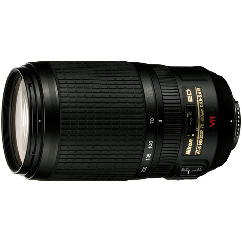 ニコン AF-S VR Zoom Nikkor ED 70-300mm F4.5-5.6G(IF) 《納期約1.5ヶ月》