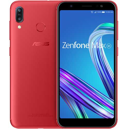 ASUS Zenfone Max M1 ルビーレッド [ZB555KL-RD32S3]
