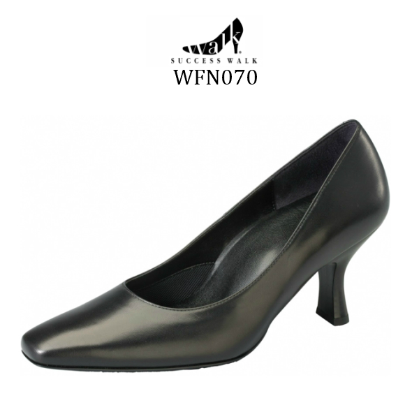 【wacoal/ワコール】【success walk/サクセスウォーク】【送料無料】WFN070 パンプス ヒール7cm 足囲D-EEE カップインソール