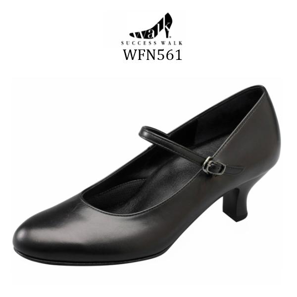 【wacoal/ワコール】【success walk/サクセスウォーク】【送料無料】WFN561 ビジネスパンプス ラウンド・トゥタイプ ヒール5cm 足囲E-2E