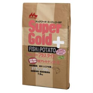 [送料無料]スーパーゴールド フィッシュ&ポテト プラスライト 肥満・関節の健康に配慮7.5kg
