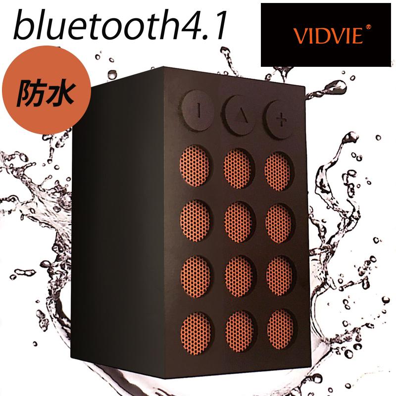 スピーカー bluetooth VIDVIE 防水ワイヤレススピーカー zc-886 x9s