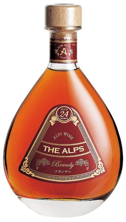 アルプス ザ・アルプス24年 750ml ブランデー
