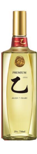 眞露Premium 乙樫樽7年熟成プレミアムジンロオツPremium JINRO 乙 25度 720ml 6本入り