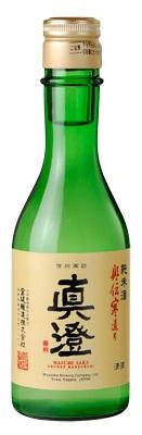 真澄 純米酒 奥伝寒造り 300ml瓶 24本入り信州諏訪の地酒納期は説明欄に記載があります。