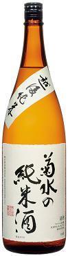菊水の純米酒 1800ml瓶 6本入り1.8L
