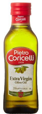 【本州のみ送料無料・送料込み】ピエトロ・コリチェッリ エキストラバージン オリーブオイル 250ml瓶12本入り 5ケースオリーブ油北海道・四国・九州行きは追加送料220円かかります。