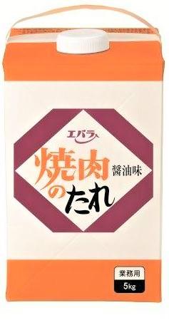 本州のみ送料無料 エバラ 焼き肉のたれ おしゃれ 新発売 醤油味 5kg 4本北海道 四国 九州行きは追加送料220円かかります