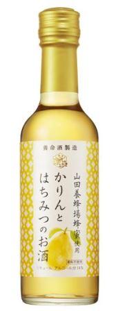 【2018年3月発売】養命酒 かりんとはちみつのお酒 250ml瓶入り 12本入り山田養蜂場蜂蜜使用