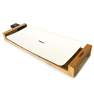 【返品OK!条件付】ホットプレート Table Grill Pure テーブルグリル ピュア PRINCESS(プリンセス) 白いホットプレート 103030おしゃれグリルプレート 遠赤外線 竹の台がテーブルを彩るインテリア 油がいらない!お手入れ簡単 【KK9N0D18P】【100サイズ】
