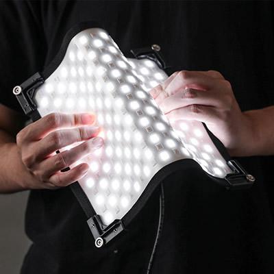 【返品OK!条件付】アビカ シート型フレキシブルLEDライト ABC-FLS45W 撮影用 照明 ABIKA【KK9N0D18P】【80サイズ】
