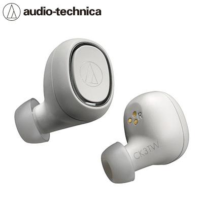 【キャッシュレス5%還元店】【返品OK!条件付】オーディオテクニカ 完全ワイヤレスイヤホン Bluetooth対応 ATH-CK3TW-WH ホワイト【KK9N0D18P】【60サイズ】