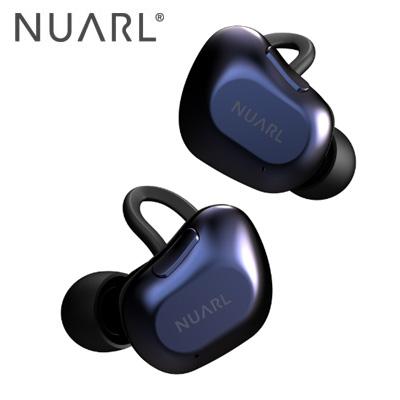 【キャッシュレス5%還元店】【返品OK!条件付】NUARL 完全ワイヤレスイヤホン NT01A-DN ディープネイビー HDSS採用 Bluetooth5対応 耐水 ヌアール【KK9N0D18P】【60サイズ】