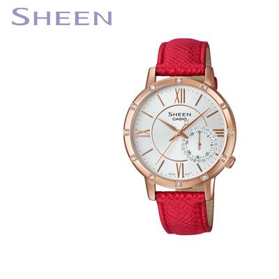 【キャッシュレス5%還元店】【返品OK!条件付】【正規販売店】カシオ 腕時計 CASIO SHEEN レディース SHE-3046GLP-7BJF 2019年8月発売モデル【KK9N0D18P】【60サイズ】