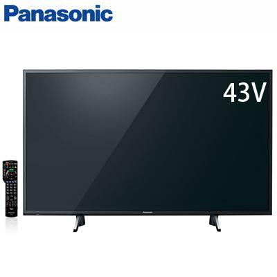 【返品OK!条件付】パナソニック 43V型 液晶テレビ 4Kダブルチューナー内蔵ビエラ HDR対応 GX755シリーズ TH-43GX755【KK9N0D18P】【200サイズ】