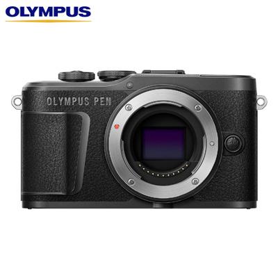 【キャッシュレス5%還元店】【返品OK!条件付】オリンパス ミラーレス一眼カメラ OLYMPUS PEN E-PL10 ボディー E-PL10-BODY-BK ブラック【KK9N0D18P】【80サイズ】