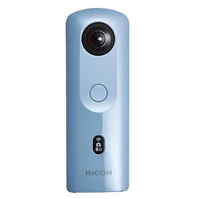 【キャッシュレス5%還元店】【返品OK!条件付】リコー デジタルカメラ THETA SC2 360度カメラ THETA-SC2-BL ブルー【KK9N0D18P】【60サイズ】