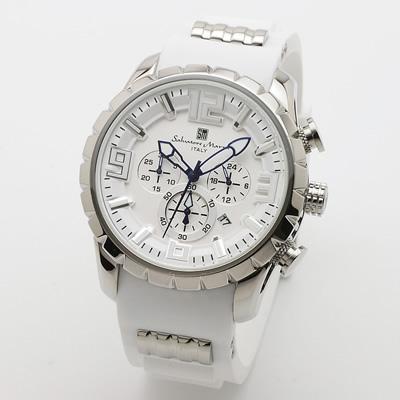 【返品OK!条件付】サルバトーレマーラ 腕時計 クロノグラフ SM15107-SSWHWH エスケイインターナショナル【KK9N0D18P】【60サイズ】