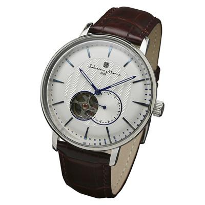【返品OK!条件付】サルバトーレマーラ 腕時計 機械式自動巻きウォッチ SM17114-SSWH エスケイインターナショナル【KK9N0D18P】【60サイズ】