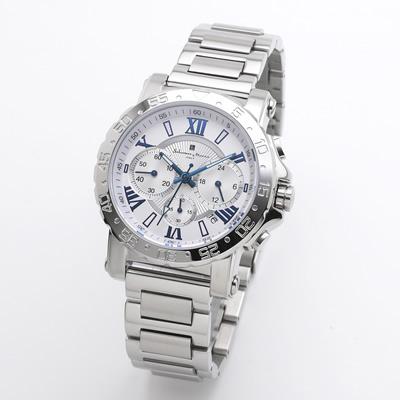 【返品OK!条件付】サルバトーレマーラ 腕時計 クロノグラフウォッチ SM20101-SSWHBL エスケイインターナショナル【KK9N0D18P】【60サイズ】
