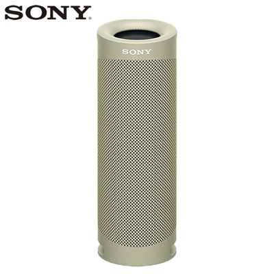 【返品OK!条件付】ソニー ワイヤレスポータブルスピーカー SRS-XB23-C ベージュ SONY【KK9N0D18P】【80サイズ】