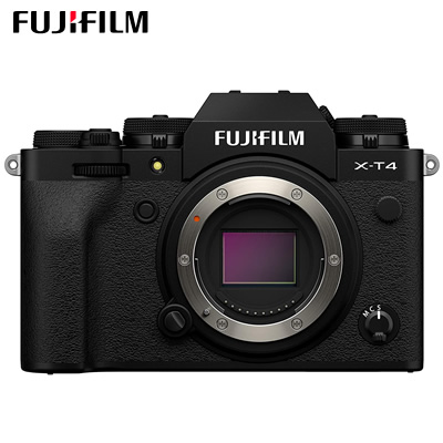 【返品OK!条件付】富士フイルム ミラーレス一眼カメラ FUJIFILM X-T4 ボディ ブラック X-T4-B【KK9N0D18P】【80サイズ】