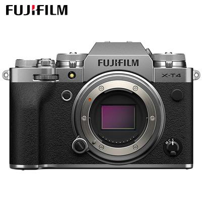【返品OK!条件付】富士フイルム ミラーレス一眼カメラ FUJIFILM X-T4 ボディ シルバー X-T4-S【KK9N0D18P】【80サイズ】