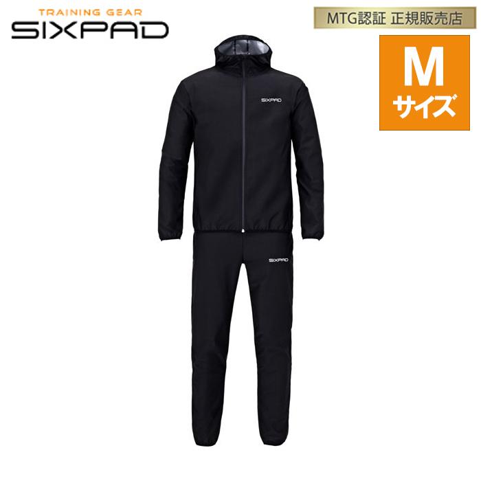 【返品OK!条件付】正規品 MTG シックスパッド サウナスーツ Mサイズ SIXPAD Sauna Suit SS-AW00B【KK9N0D18P】【60サイズ】