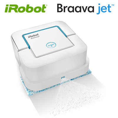 【返品OK!条件付】国内正規品 アイロボット ブラーバジェット 床拭きロボット ロボット掃除機 ふき掃除 水拭き から拭き Braavajet240 【KK9N0D18P】【100サイズ】
