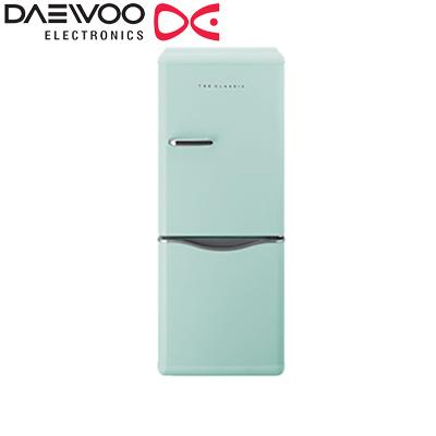 【返品OK!条件付】DAEWOO 冷凍冷蔵庫 150L 2ドア 右開き ミントグリーン DR-C15AM 【KK9N0D18P】【240サイズ】
