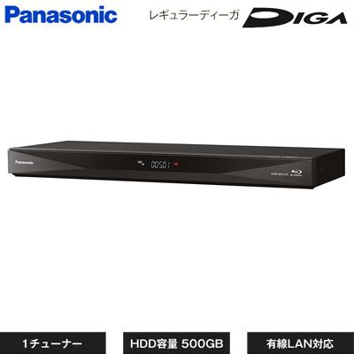 【返品OK!条件付】パナソニック ブルーレイディスク レコーダー レギュラーディーガ 1チューナー 500GB HDD内蔵 DMR-BRS530 【KK9N0D18P】【120サイズ】
