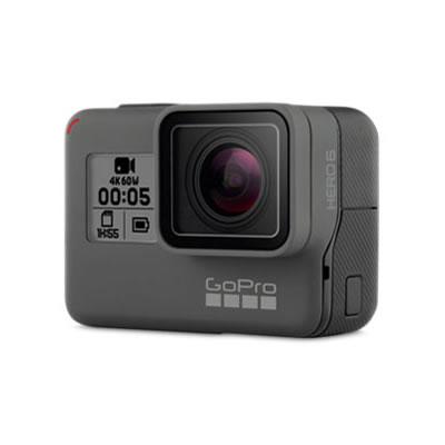 【返品OK!条件付】GoPro HERO6 BLACK アクションカメラ GPS機能 タッチディスプレイ 4K60画質 ウェアラブルカメラ アクションカム 手ぶれ補正 CHDHX-601-FW 【KK9N0D18P】【80サイズ】