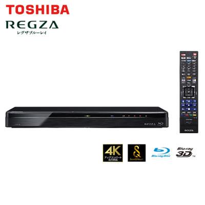 【返品OK!条件付】東芝 レグザ ブルーレイディスクレコーダー 時短 3TB HDD内蔵 3番組同時録画 4K対応 DBR-T3008【KK9N0D18P】【120サイズ】