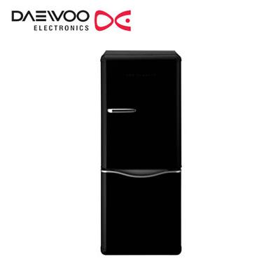 【返品OK!条件付】DAEWOO 冷凍 冷蔵庫 150L 2ドア 右開き DR-C15AB ブラック 大宇 【KK9N0D18P】【240サイズ】