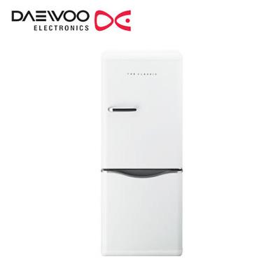 【返品OK!条件付】DAEWOO 冷凍 冷蔵庫 150L 2ドア 右開き DR-C15AW クリームホワイト 大宇 【KK9N0D18P】【240サイズ】