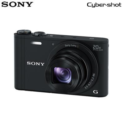 【返品OK!条件付】ソニー デジタルカメラ サイバーショット WX350 DSC-WX350-B ブラック 【KK9N0D18P】【60サイズ】