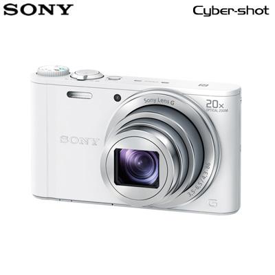 【返品OK!条件付】ソニー デジタルカメラ サイバーショット WX350 DSC-WX350-W ホワイト 【KK9N0D18P】【60サイズ】