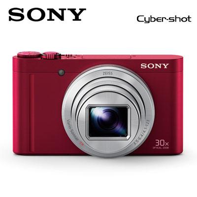 【返品OK!条件付】SONY デジタルカメラ サイバーショット コンデジ DSC-WX500-R レッド 【KK9N0D18P】【80サイズ】