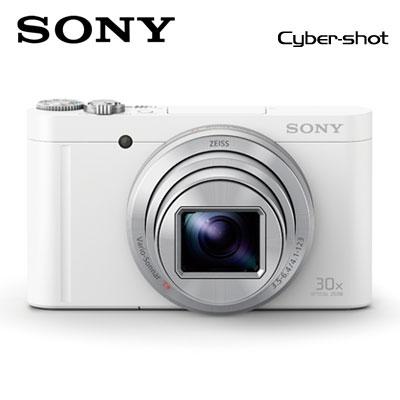 【返品OK!条件付】SONY デジタルカメラ サイバーショット コンデジ DSC-WX500-W ホワイト 【KK9N0D18P】【80サイズ】