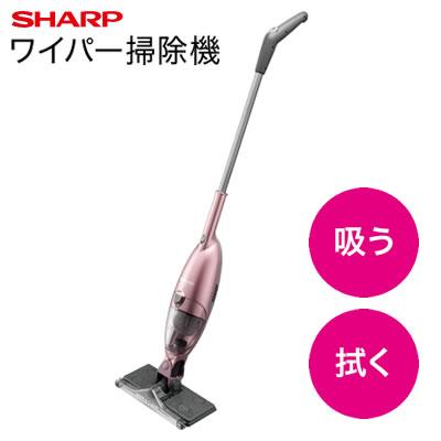 【返品OK!条件付】シャープ 掃除機 ワイパー掃除機 EC-FW18-P ピンク系 【KK9N0D18P】【120サイズ】