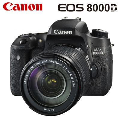 【返品OK!条件付】キヤノン デジタル一眼レフカメラ EOS 8000D EF-S18-135 IS STM レンズキット EOS8000D-18-135LK 【KK9N0D18P】【100サイズ】