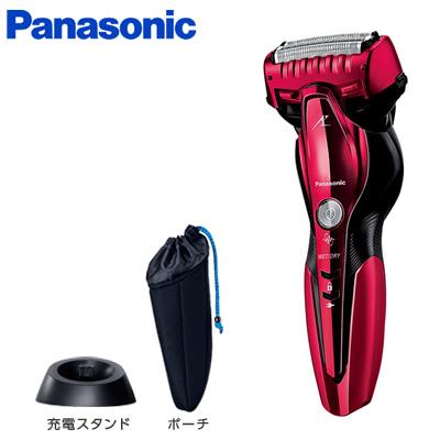 【返品OK!条件付】パナソニック メンズシェーバー お風呂剃り ラムダッシュ 3枚刃 ES-ST6Q-R 赤 カミソリシェーバー【KK9N0D18P】【60サイズ】
