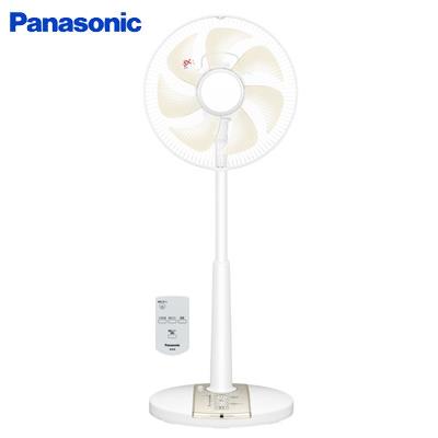 【返品OK!条件付】パナソニック 扇風機 リビング扇 リモコン付 7枚羽根 温度センサー運転 F-CR325-C ベージュ 【KK9N0D18P】【140サイズ】