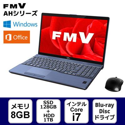 [ブライトブラック] / 富士通 FMV LIFEBOOK AH77/ 【ノートパソコン】 B3 FMVA77B3B ★☆FUJITSU 【送料無料】