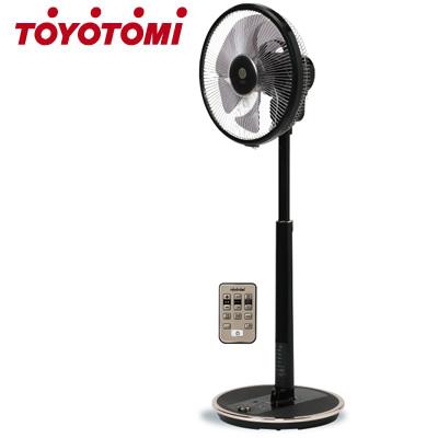 【返品OK!条件付】トヨトミ 扇風機 人感センサー付 DCモーター ハイポジション扇風機 FS-DST30IHR-BM ダークウッド【KK9N0D18P】【200サイズ】
