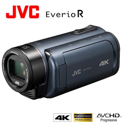 【返品OK!条件付】JVC デジタルビデオカメラ 4Kメモリームービー エブリオR GZ-RY980-A ディープオーシャンブルー 防水 防塵 耐衝撃 耐低温 【KK9N0D18P】【80サイズ】
